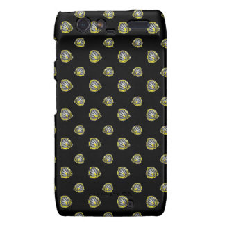 Butterfly-fish pattern droid RAZR cover