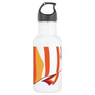 Butterfly fish 532 ml water bottle