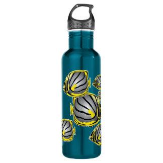 Butterfly fish 710 ml water bottle