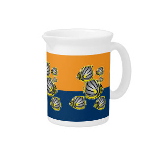 Butterfly fish pitcher