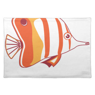 Butterfly fish placemats