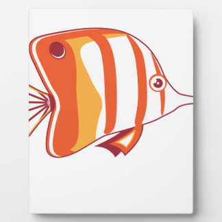 Butterfly fish display plaques