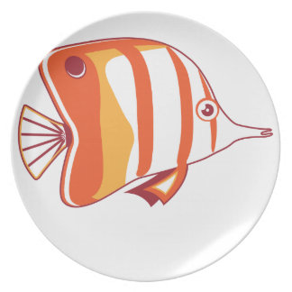 Butterfly fish plates