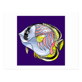 Butterfly Fish Post Card