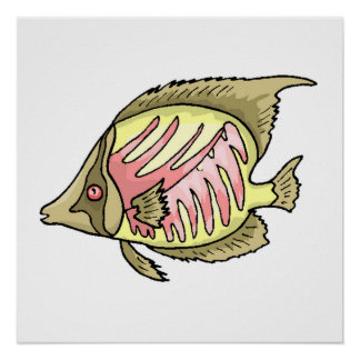 Butterfly Fish Print