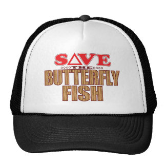 Butterfly Fish Save Cap