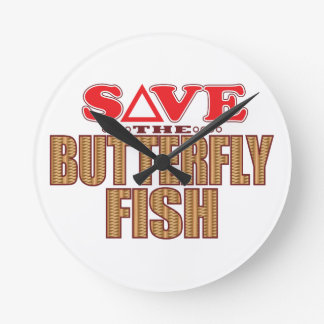 Butterfly Fish Save Clocks