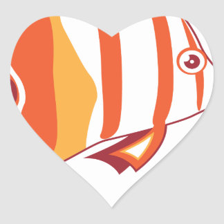 Butterfly fish stickers