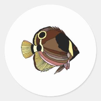 Butterfly Fish Sticker