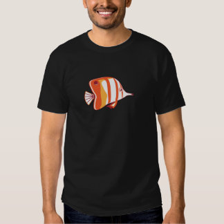 Butterfly fish t-shirts