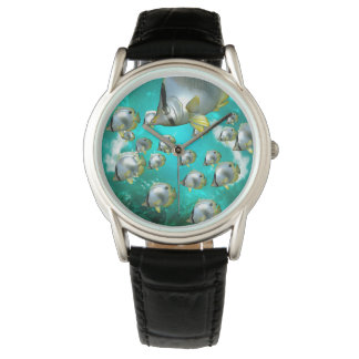 Butterfly fish wrist watches