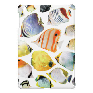Butterfly fishes iPad mini case