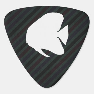 Butterfly Fishes Minimal Guitar Pick