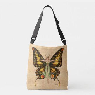 Butterfly Flapper Crossbody Bag