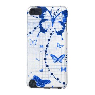 Butterfly Flash Blue iPod Touch 5G Cases