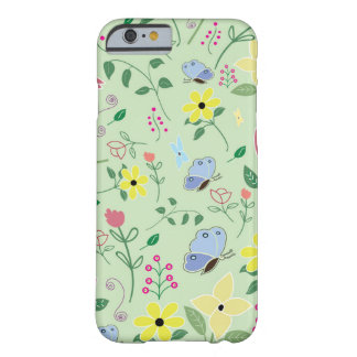 Butterfly Floral Cell Phone Case