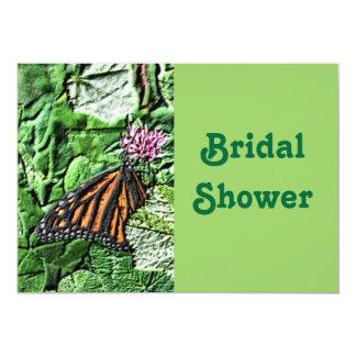 Butterfly Flower Bridal Wedding Shower Invitation