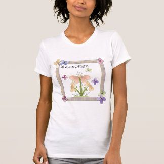 Butterfly Flower Stepmother Mothers Day Gifts Tshirts