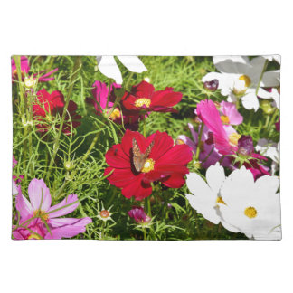 BUTTERFLY & FLOWERS AUSTRALIA PLACEMAT