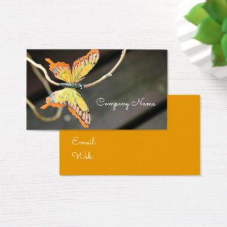 Butterfly Flying Bug Insect Nature Company Business Card