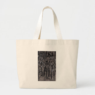 Butterfly Forest by Carter L. Shepard Large Tote Bag