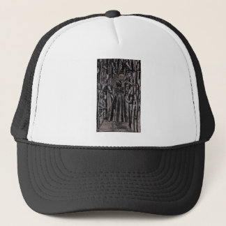 Butterfly Forest by Carter L. Shepard Trucker Hat