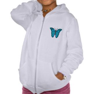Butterfly Freedom, A beautiful Butterfly Fleece Tshirt