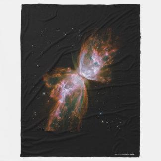 Butterfly Galaxy NGC 6302 Fleece Throw