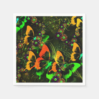 Butterfly Garden 2 Disposable Serviette