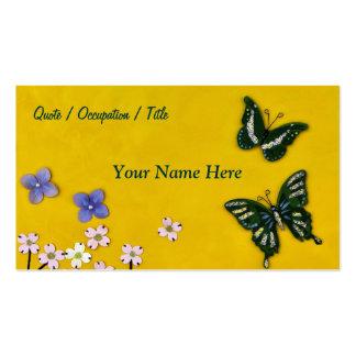 Butterfly Garden Pack Of Standard Business Cards