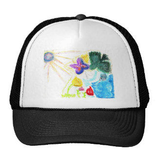 Butterfly Garden Cap