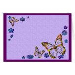 Butterfly Garden Card (Blank)