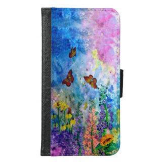 Butterfly Garden Cell Phone Wallet