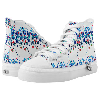 Butterfly Garden High Tops