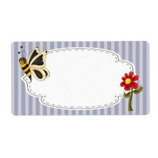 Butterfly Garden Label