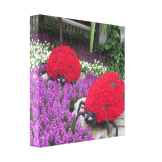Butterfly Garden Las Vegas - Colorful Happy Times Gallery Wrap Canvas