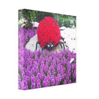 Butterfly Garden Las Vegas - LadyBUG Lady BUG GIFT Gallery Wrap Canvas
