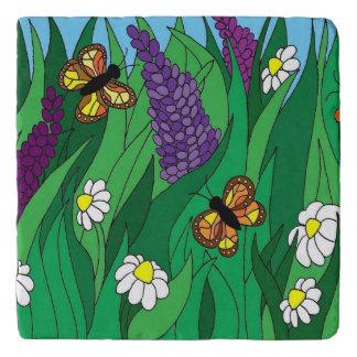 Butterfly Garden Trivet