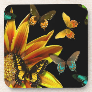 Butterfly Gardens Drink Coasters