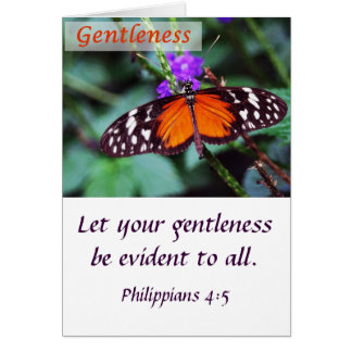Butterfly - Gentleness Greeting Card