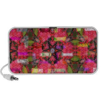 Butterfly Geometric Doodle Travel Speaker