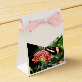 butterfly gift box/goodie bag wedding favor box