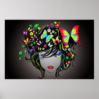 Butterfly Girl 1 Poster