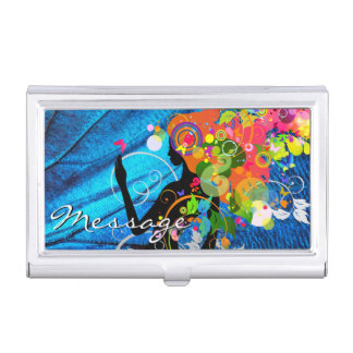 Butterfly Girl 4A-5A Options Business Card Holders