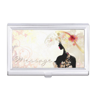 Butterfly Girl 6A Options Business Card Holder