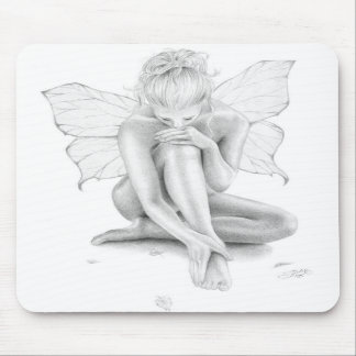 Butterfly Girl Mousepad