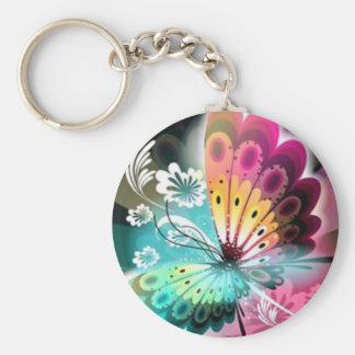 Butterfly Glow Key Ring