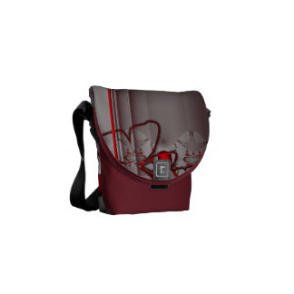 Butterfly Grace Courier Bag