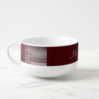 Butterfly Grace Soup Mug