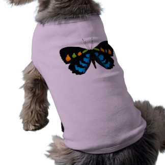 BUTTERFLY GRAPHIC PRINT DOG SHIRT